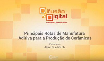 Palestra com o Presidente da Anfamec sobre Impressão 3D em Cerâmica